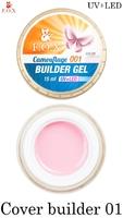 Камуфлирующий гель F.O.X Cover (camouflage) builder gel UV+LED 001 ( 15 мл)