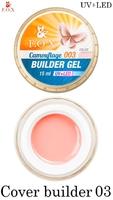 Камуфлирующий гель F.O.X Cover (camouflage) builder gel UV+LED 003 ( 15 мл)