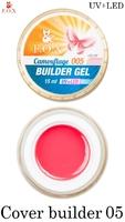 Камуфлирующий гель F.O.X Cover (camouflage) builder gel UV+LED 005 ( 15 мл)