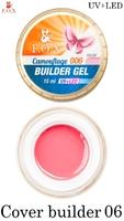 Камуфлирующий гель F.O.X Cover (camouflage) builder gel UV+LED 006 ( 15 мл)