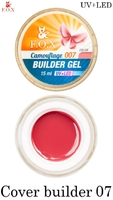 Камуфлирующий гель F.O.X Cover (camouflage) builder gel UV+LED 007 ( 15 мл)