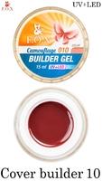 Камуфлирующий гель F.O.X Cover (camouflage) builder gel UV+LED 010 ( 15 мл)