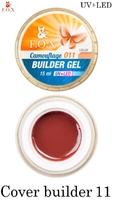 Камуфлирующий гель F.O.X Cover (camouflage) builder gel UV+LED 011 ( 15 мл)