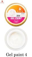 Гель-краска F.O.X Gel paint 004 ( 5 мл)