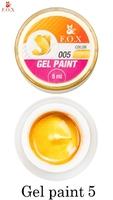 Гель-краска F.O.X Gel paint 005 ( 5 мл)