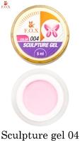 Гель-пластилин F.O.X Sculpture gel 004 (5 мл.)