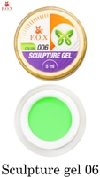 Гель-пластилин F.O.X Sculpture gel 006 (5 мл.)