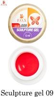 Гель-пластилин F.O.X Sculpture gel 009 (5 мл.)