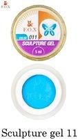 Гель-пластилин F.O.X Sculpture gel 011 (5 мл.)