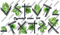 CRYSTALOFF SLIDER 209