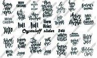 CRYSTALOFF SLIDER 246