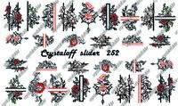 CRYSTALOFF SLIDER 252