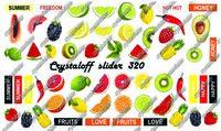 CRYSTALOFF SLIDER 320