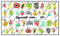Слайдер-дизайн Crystaloff 429